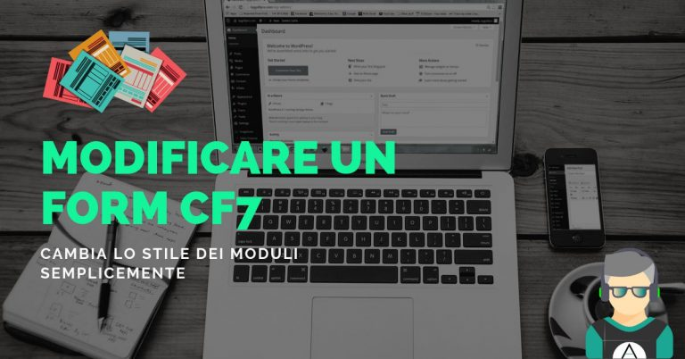 UX: Come modificare lo stile di contact form 7 facilmente.